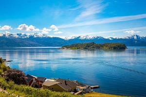 hermosa naturaleza noruega.