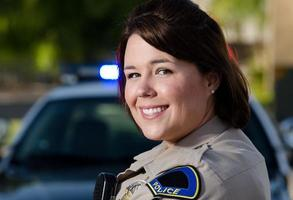 ufficiale sorridente