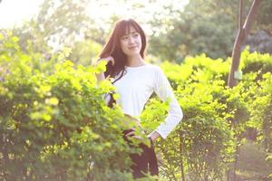 bella ragazza asiatica