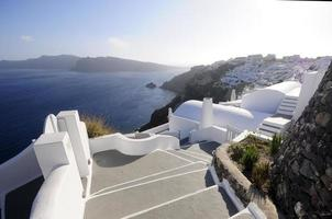 Oia in morning light photo