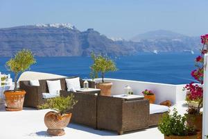isla de santorini, grecia foto