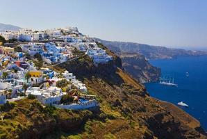 Santorini View - Greece photo