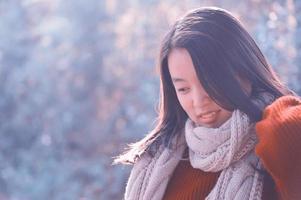 Chinese woman portrait photo