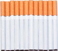 primer plano del cigarrillo foto