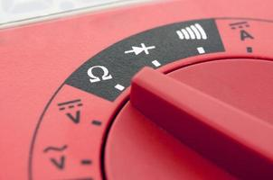 Multimeter close-up