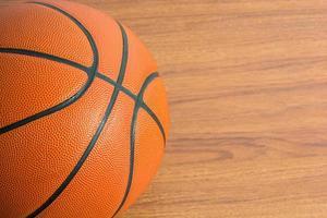Close up Basketball photo