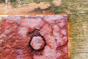 tornillo oxidado