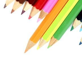 Close-up pencil. photo
