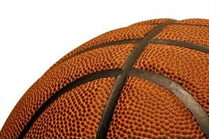 Basketball close-up photo