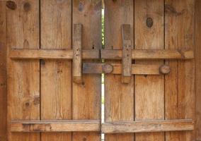 Natural color wooden door background