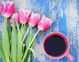 taza de café en mano