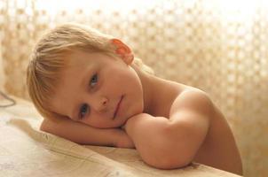 retrato de niño pequeño