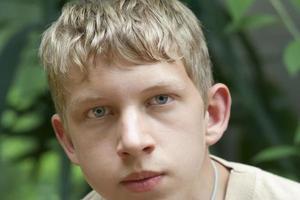 retrato adolescente foto