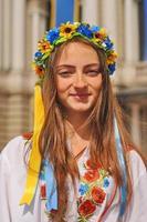 Retrato de niña ucraniana