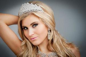 Beauty Queen Portrait. photo
