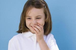 Portrait of child photo