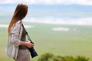 Nature photographer portrait photo