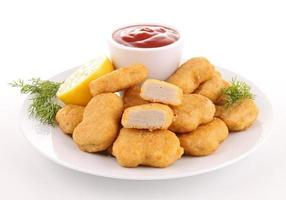 plate of nuggets