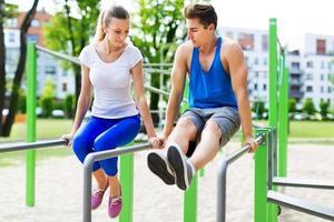 ejercicio exterior