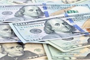 dinero - billetes de dólares estadounidenses (usd) foto
