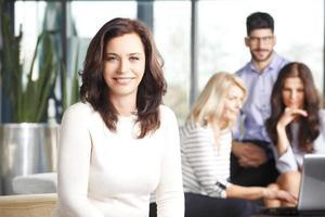Mature business woman photo