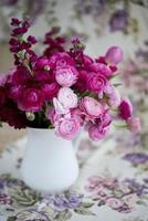 flores de ranúnculo foto