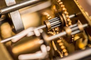 Close-up Clockwork Gears
