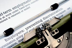 Employers preventing discrimination photo