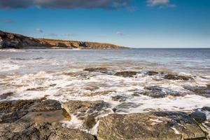 Incoming tide at Cullernose Point