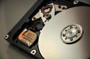 disco duro y tecnología foto