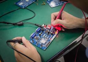 Repair electronic metering parameters