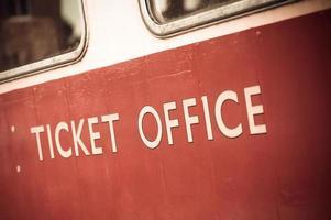 ticket office photo