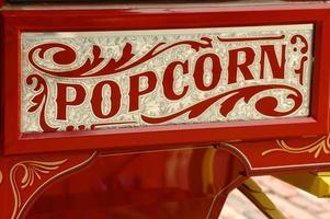 carro del vendedor de palomitas de maíz