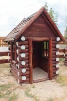 houten huis voor kinderen