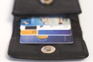 tarjetas de crédito foto