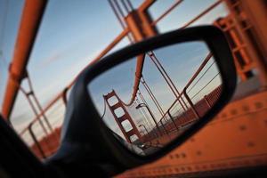 Reflected Golden Gate