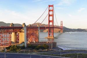 Puente Golden Gate en San Francisco, California, EE.UU. foto
