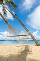 camilla de playa foto