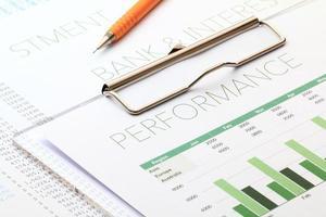 análisis de rendimiento empresarial foto