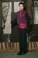 usar ropa ocupación camareros chinos foto