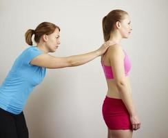 Osteopathy treatment photo