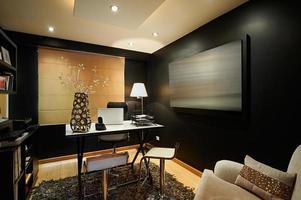 diseño de interiores: oficina moderna de estudio foto