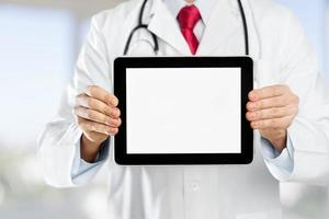 Doctor, tablet, health photo