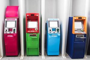 various color  ATM photo