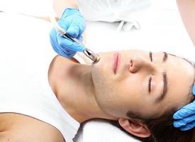 Beauty salon, microdermabrasion photo