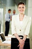 Happy employee photo