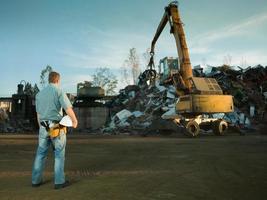 reciclaje en progreso foto