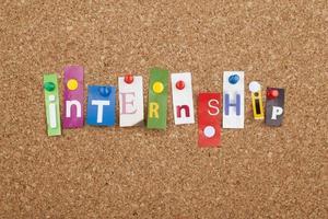 Internship photo