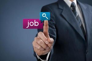 Job seeking photo