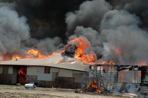 fuego de la casa foto